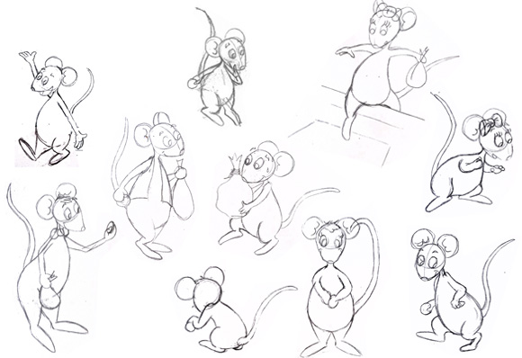 Recherche dessin petite souris