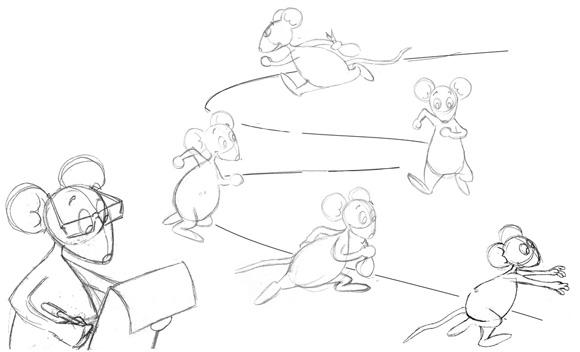Croqui souris