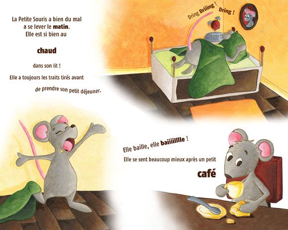 Illustration de la petite souris