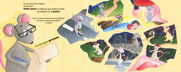 Illustration de petites souris