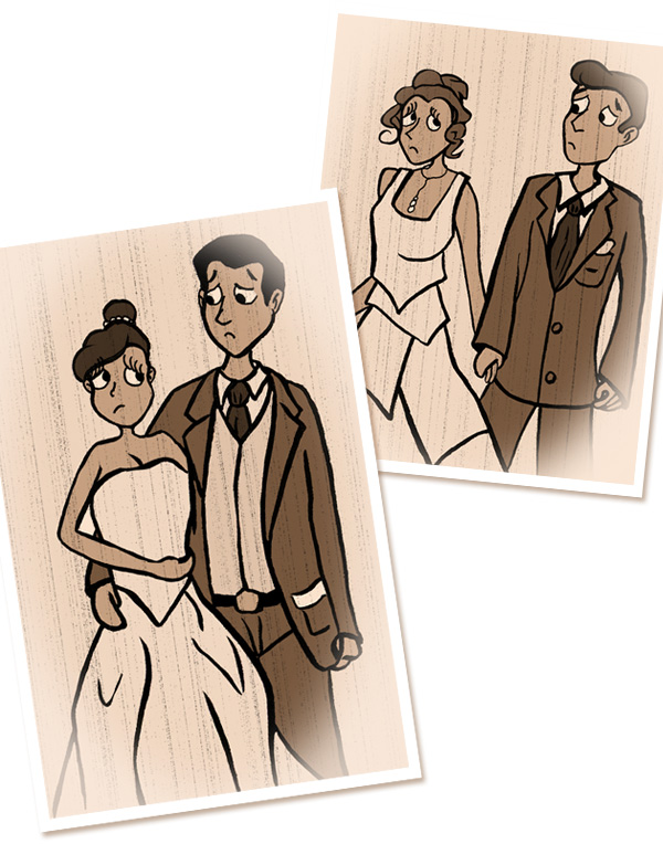 Mariage, robe de mariés