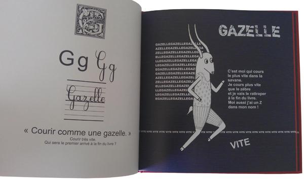 G comme Gazelle, courir comme une gazelle