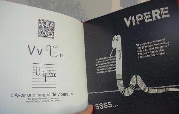 V comme vipère, langue de vipère