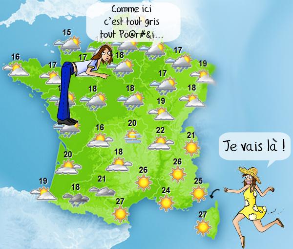 Météo, va chercher le soleil en Corse