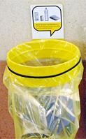 poubelle jaune tri sélectif