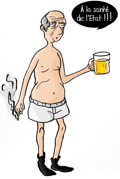 Vieux retraités taxe sur la bière, le tabac, les retraites