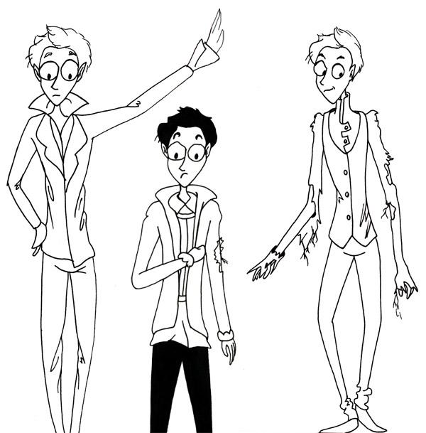 recherches costumes personnages
