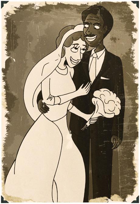 Mariage mixte, ségrégation légalisation mariage mixte en 1967