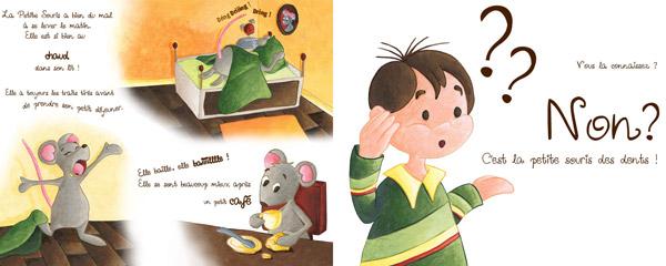 Illustration de la petitie souris