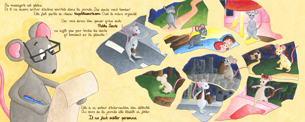 conte pour enfant sur la petitie souris