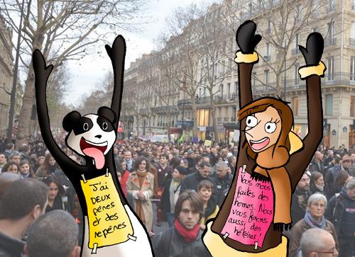 Slogan manifestation 16 décembre 2012
