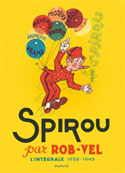 Spirou crée par Rob-Vel
