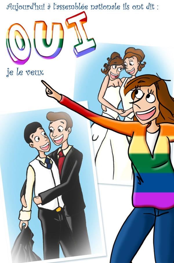 Légalisation du mariage pour tous
