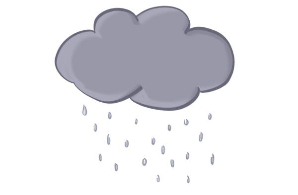 nuage de pluie