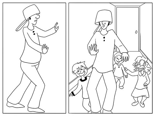 Jouer avec les enfants est épuisant