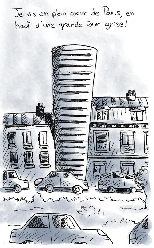 Une tour en plein coeur de paris