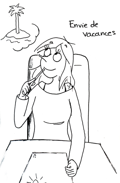 Envie de vacances