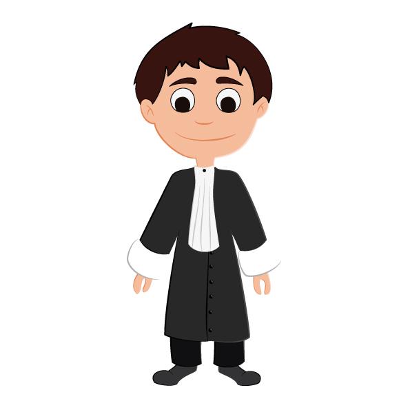 jeu des métiers avocat personnage avocat