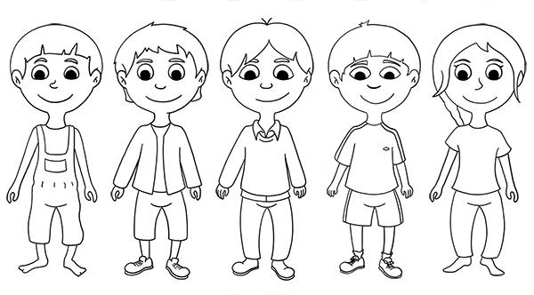 Recherche pour illustration vectorielle de personnage pour jeux