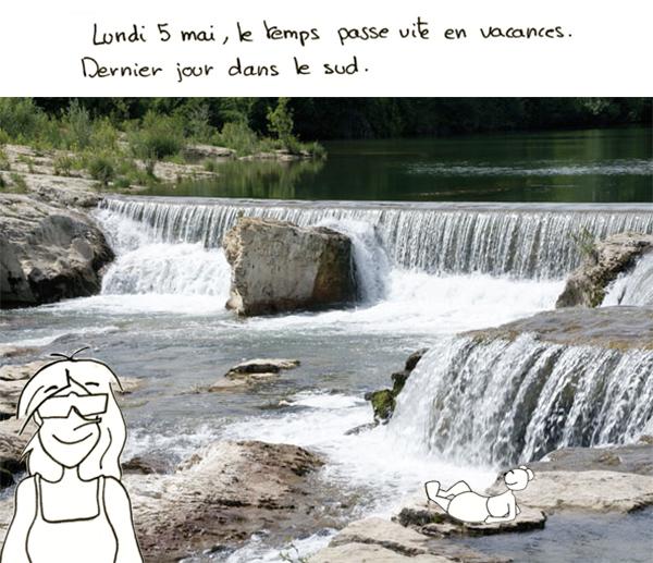 Les cascades de La Roque sur Cèze