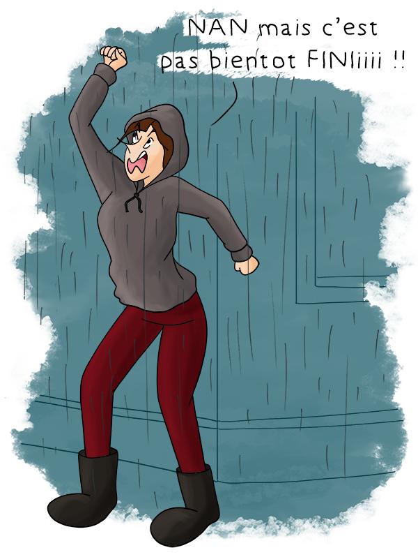 Paris sous la pluie, week end sous la pluie, il pleut tout l'été
