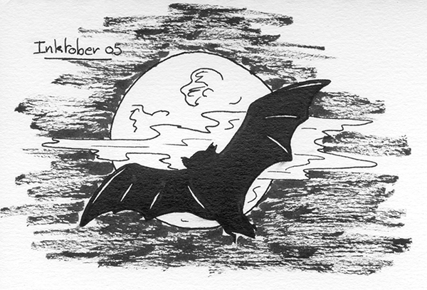 inktober 2014  participation du 5 octobre