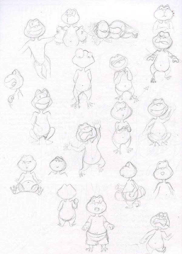 Recherche de personnage lillie la grenouille