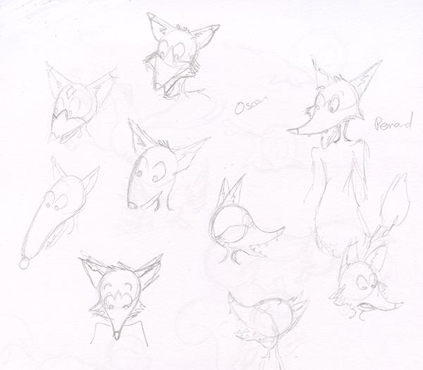 Recherche de personnage renard