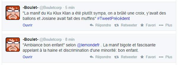 Tweet de Boulet sur la ManifDeLaHonte