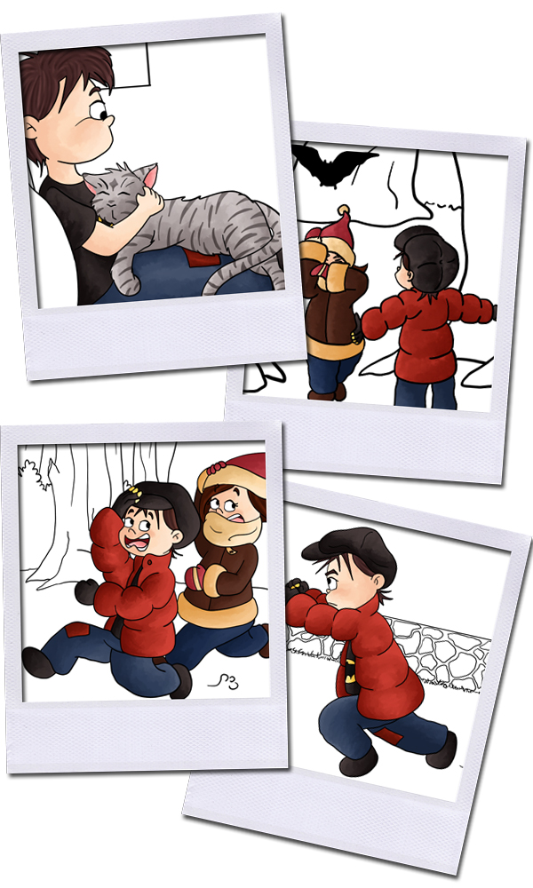 Polaroid Illustration - polaroid dessin