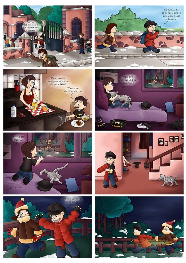BD histoire de noël pour les  enfants