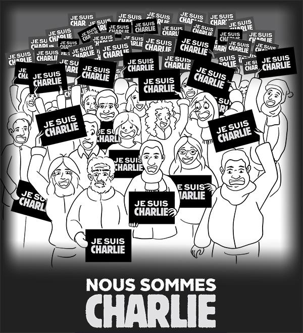 Marche républicaine du 11 janvier 2015 Nous sommes tous Charlie