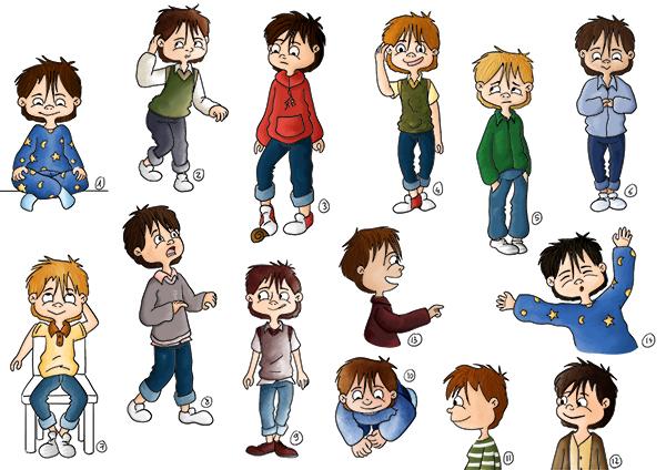 Recherche de personnage garçon Hugo