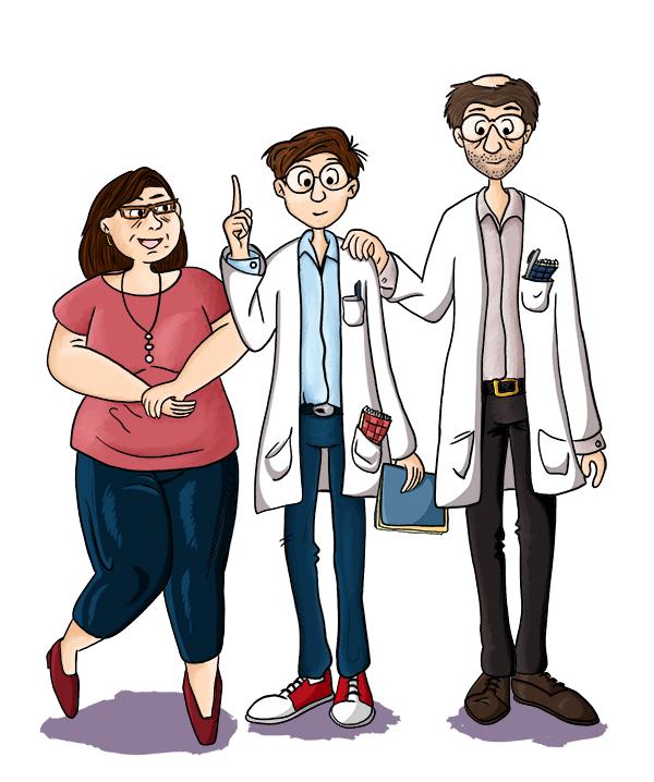 Recherche de personnage : famille de scientifique