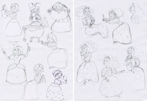 Recherche de personnage une princesse
