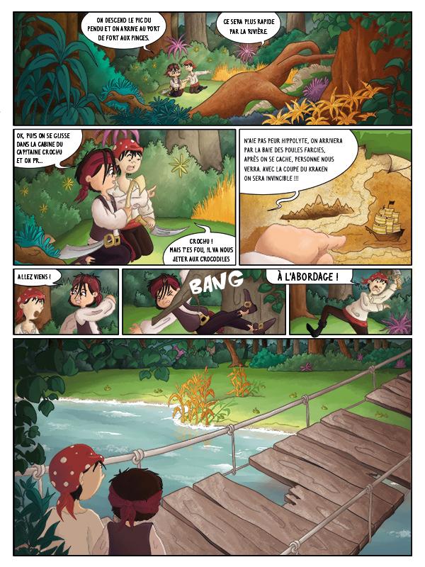 BD jeunesse Hugo et les pirates