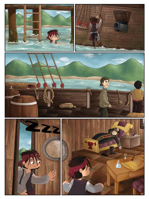 BD jeunesse aventures de pirates