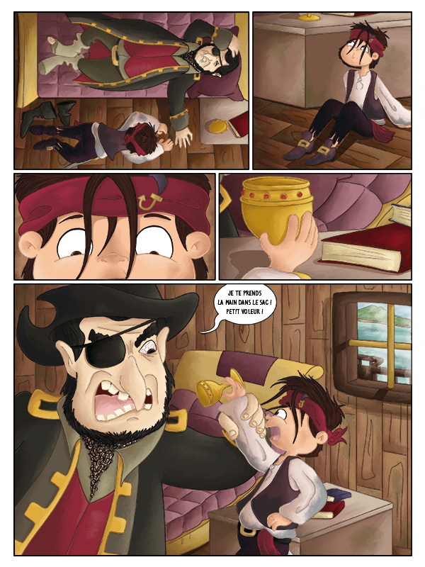 BD capitaine pirates