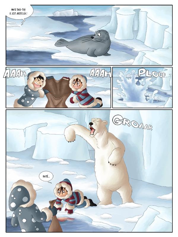 BD jeunesse aventure au pôle nord