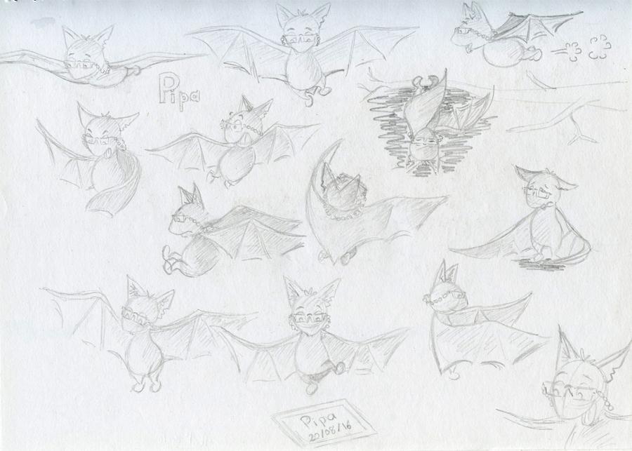 Recherches de personnage Pipa la Chauve-souris