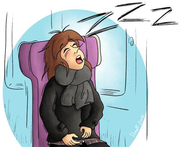 Dormir dans le TGV