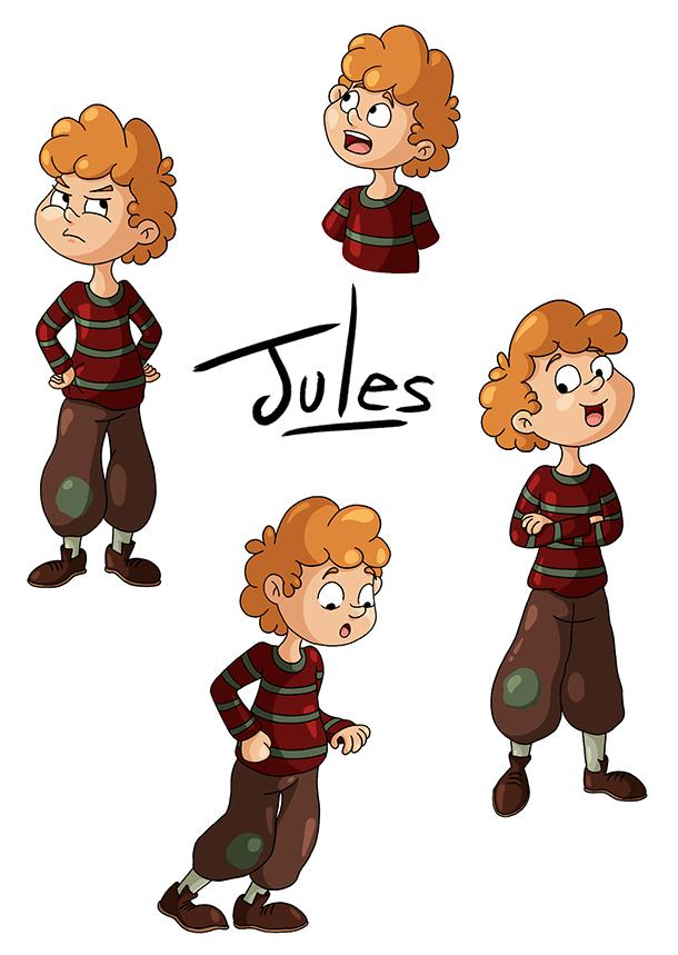 Recherche de personnage petit garçon Jules