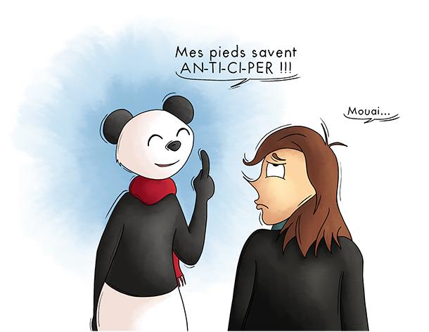 Les théories fumeuses du panda