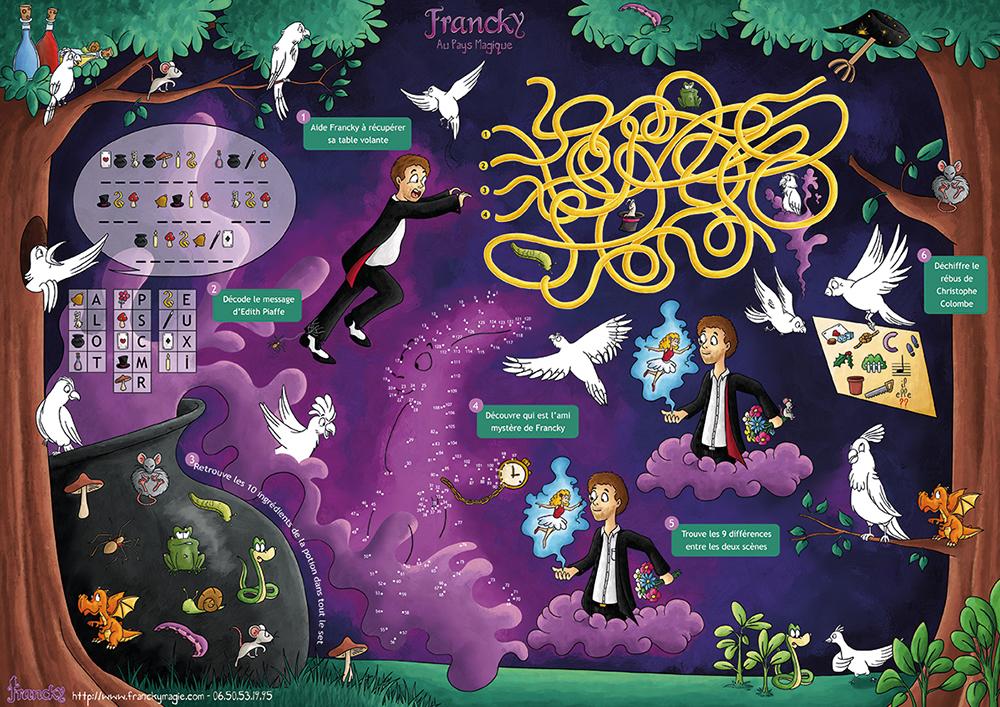 Set de jeux de Francky le magicien