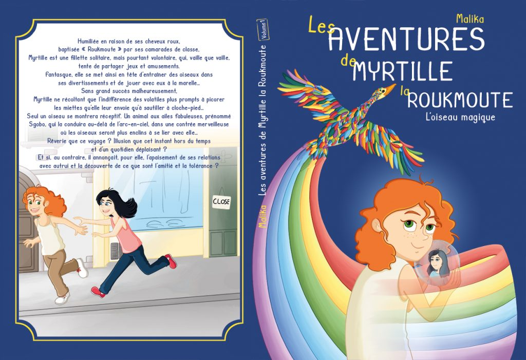 Illustration de couverture roman jeunesse