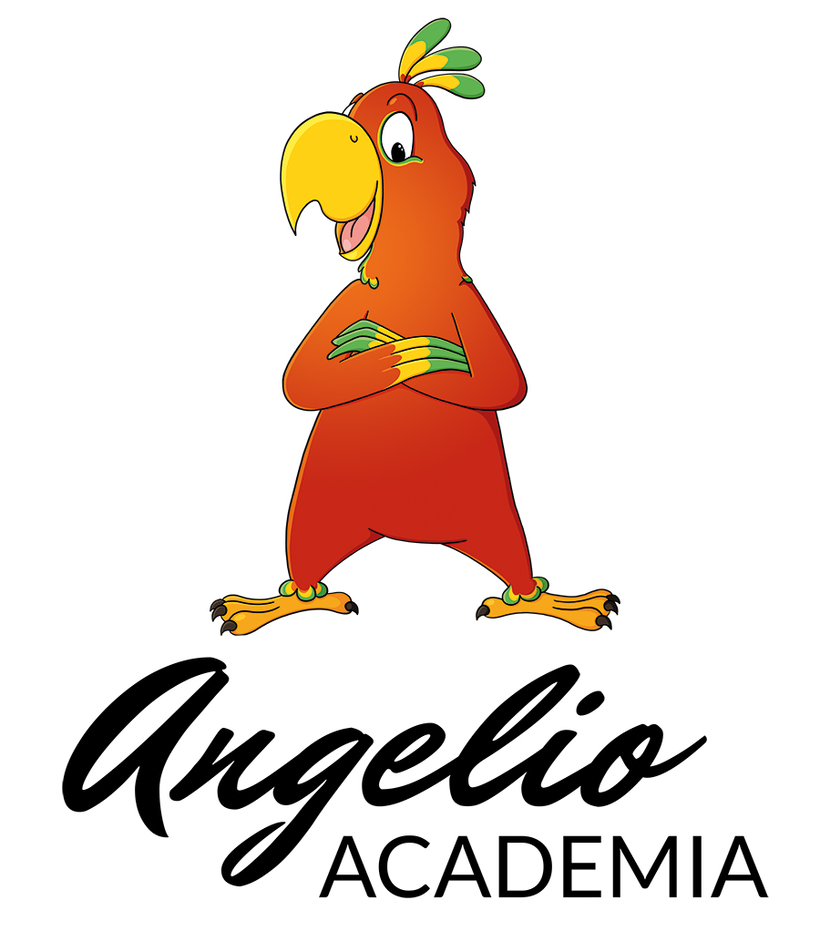 Creation du logo de Angelio academia