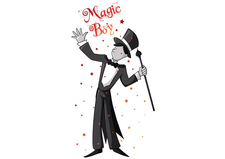 Logo magicien