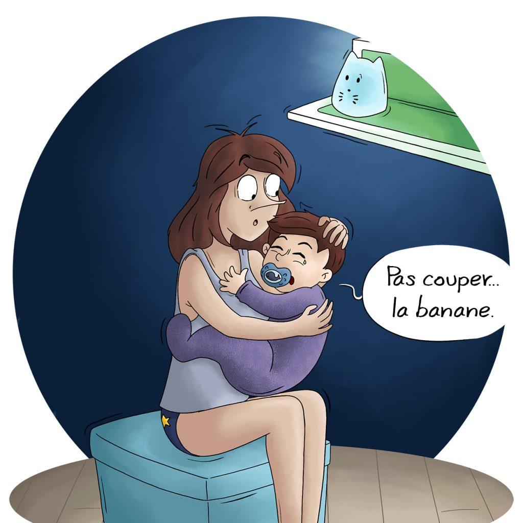 Blog bd maman console et berce son bébé