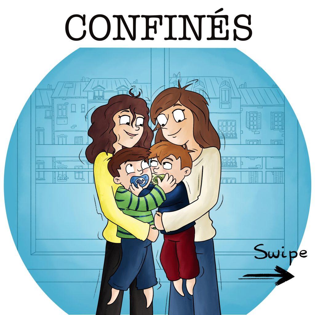 Confinement en famille Covid 19