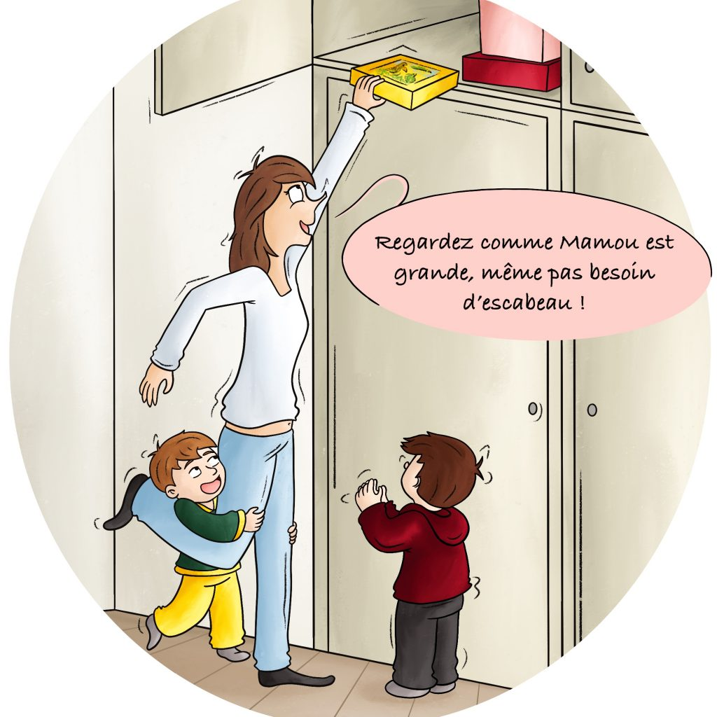 BD humour vie de famille